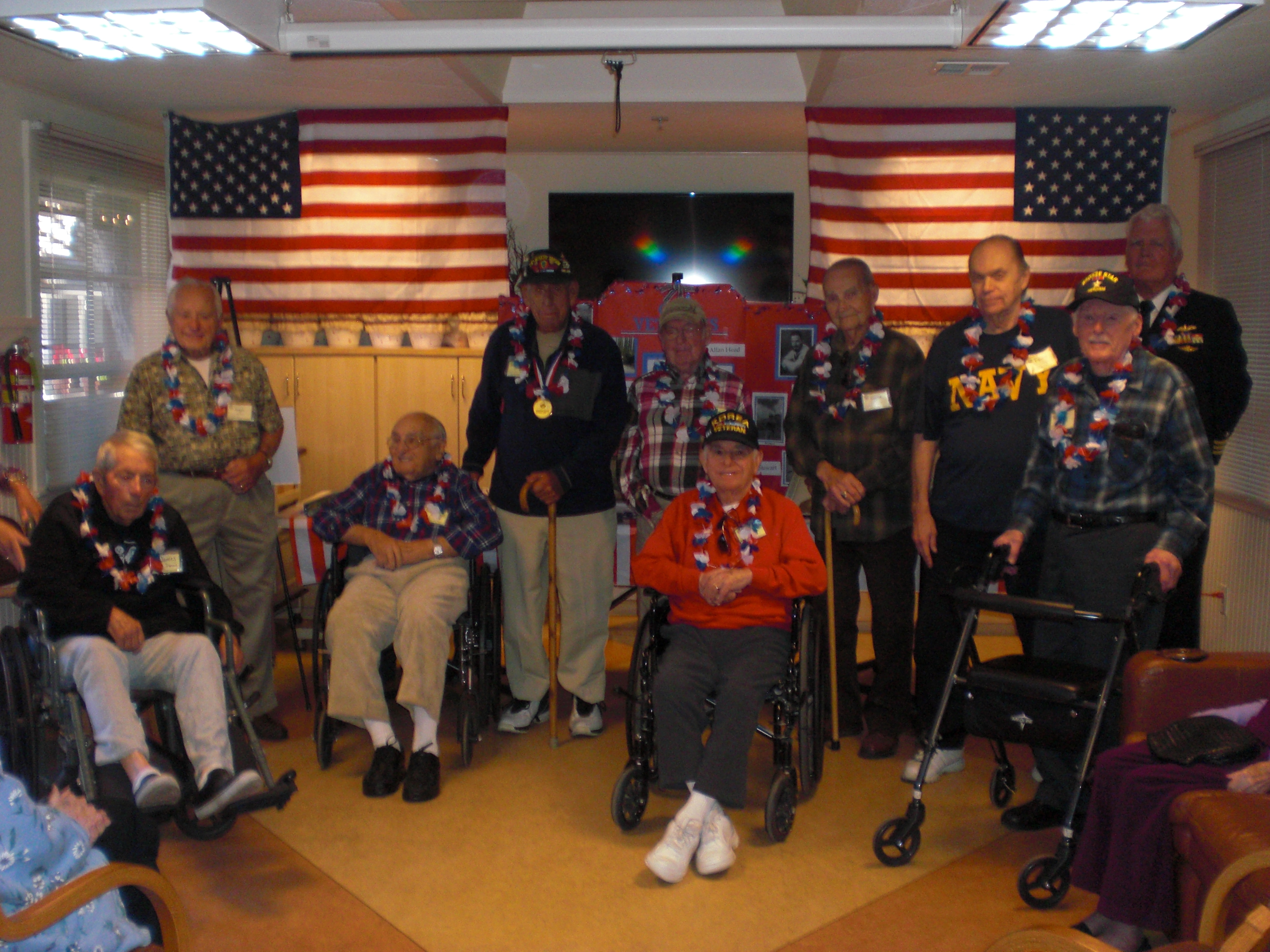 Camaraderie and the Commander: the Importance of Socialization for Aging Vets