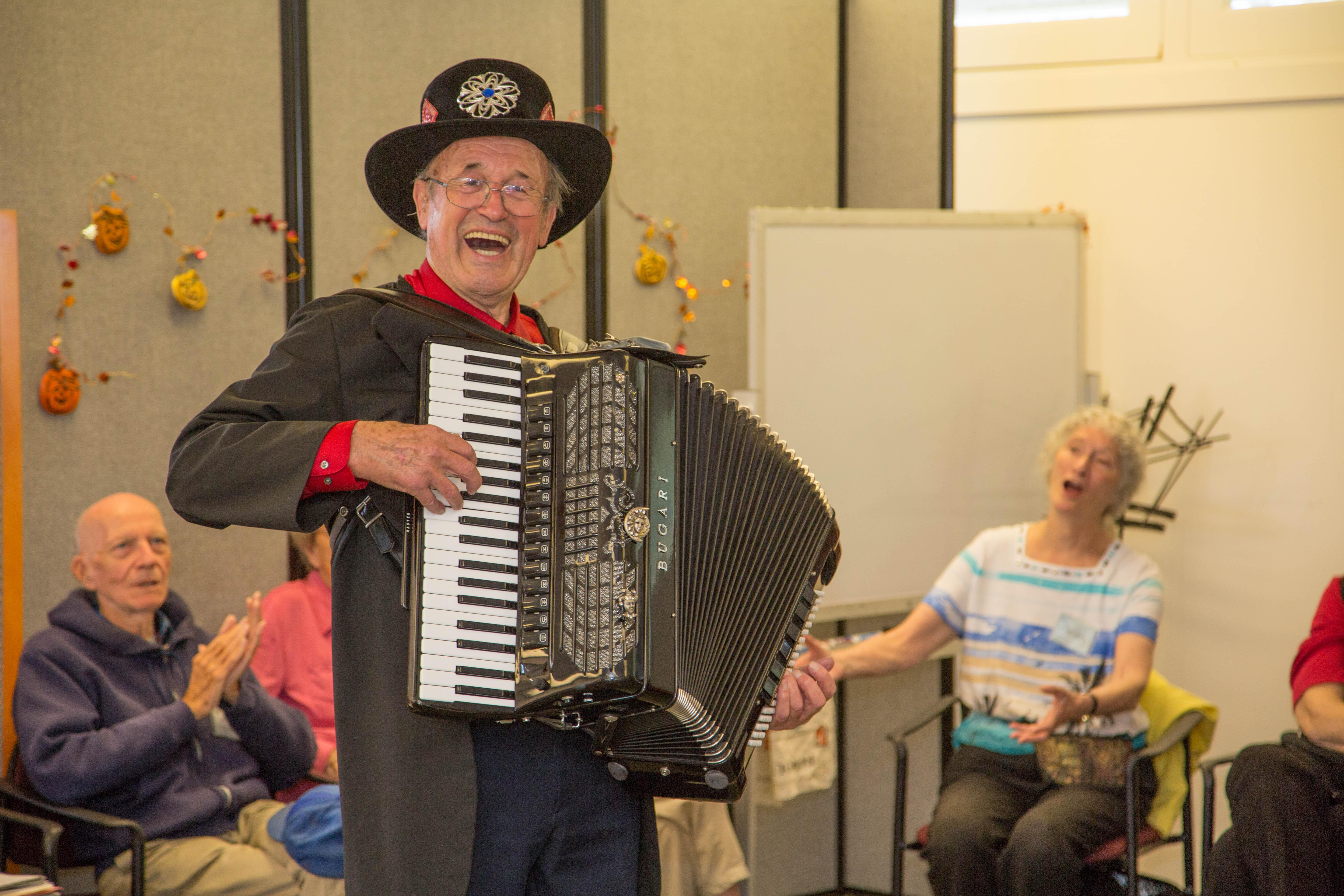 Music and Memory at Friendship Center