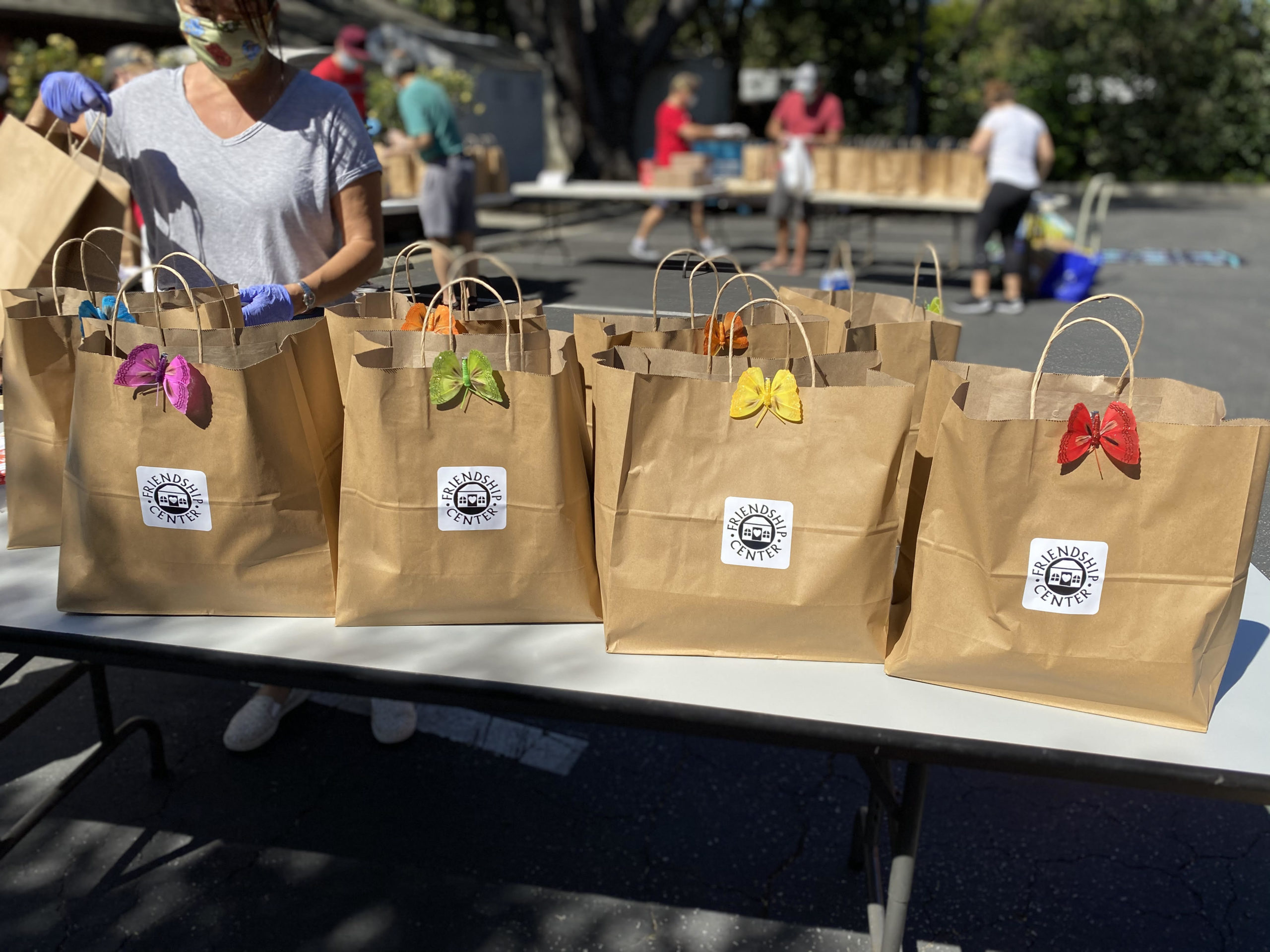Food For Friends & Take Care Totes: Friendship Center Shifts to Remote Services