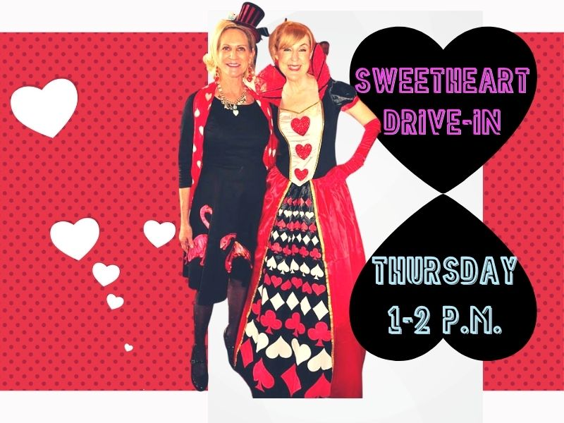 Queen of Hearts to Attend Sweetheart's Drive-In